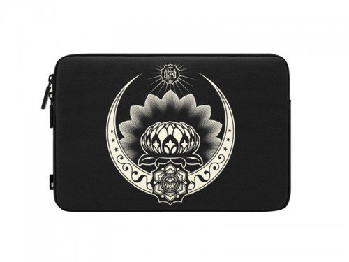 Incase Coated Canvas Sleeve for MacBook Pro 15'- Obey - Shepard Fairey- Giant Lotus