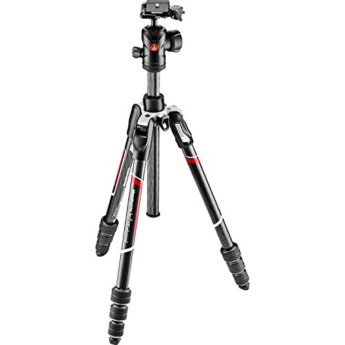 Manfrotto Befree Advanced Carbon Fiber Travel Tripod Twist with 494 Ball Head