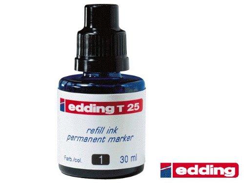 Nachfüll-Tusche T25 Schwarz Edding