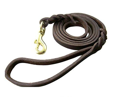 Professional Concurrence Laisse/chien/cuivre/Traction Corde Crochet longue Corde, marron