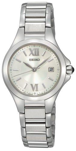 Big Sale Seiko Women's SXDC13 Dress White Dial Watch