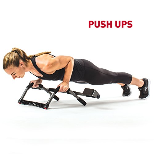 Product Image 2: Perfect Fitness Multi-Gym Doorway Pull Up Bar and Portable Gym System, Pro