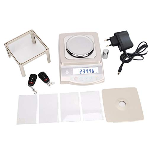 Pantalla de visualización HD Escala digital de 500 g / 0,1 g, para medir oro, plata y joyas(European standard 220V)