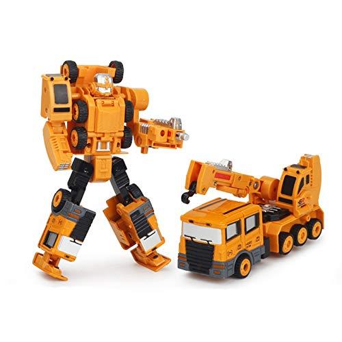 Transforma A Los Tractores Y Las Figuras De Acción De Robot Se Combinan En 1 Robot Gigante, Heroes Rescue Bots, Deformación De Aleación Robot Juguete, EXCAVADOR DE AUTOMÁTICA, MÁQUINA DE INGENIERÍA, M