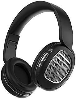 SIZOO - Bluetooth Earphones & Headphones - Bluetooth Headset V5.0 Wireless Card Sports Folding Computer Headset (Black)