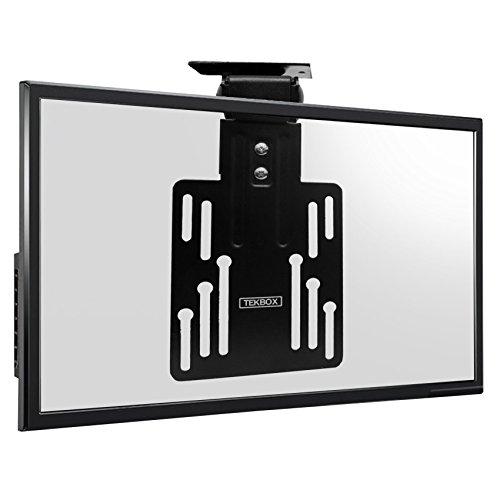 Tekbox Support de plafond pliable pour TV LCD LED Plasma avec 50 x 50, 75 x 75 et 100 x 100 VESA