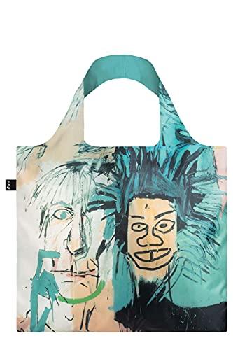 LOQI JEAN MICHEL BASQUIAT Warhol Bag Reise-Henkeltasche, 50 cm, Warhol