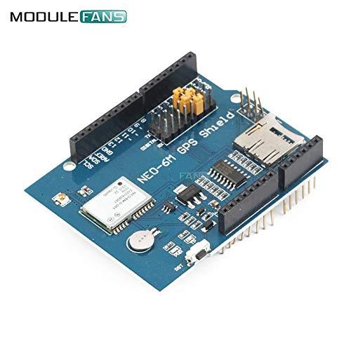 NEO-6M u blox NEO-6 GPS Logger Shield SPI UART w/SD Card Slot für Arduino