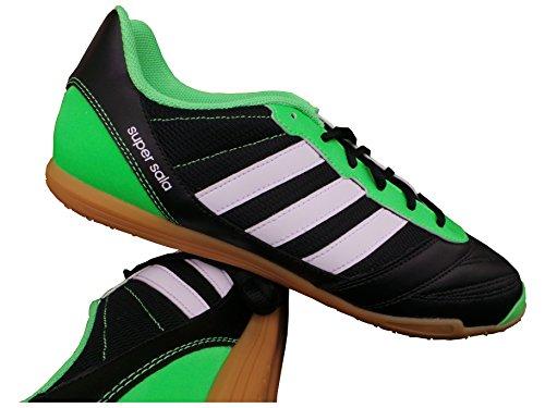 adidas Freefootball Supe rsala hallensportschuh Hombre Schwarz - grün - weiß Talla:40 UE