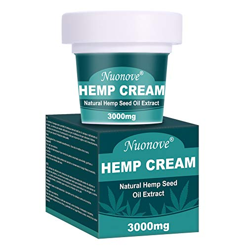 Hemp Cream,Hemp Balm, Crema viso alla canapa,Antinfiammatorio, Anti-Acne, Anti-Ossidante, Antirughe, Anti-Aging, 40g