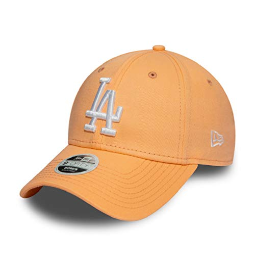 New Era Los Angeles Dodgers MLB Cap Damen Verstellbar Rosa Orange - One-Size