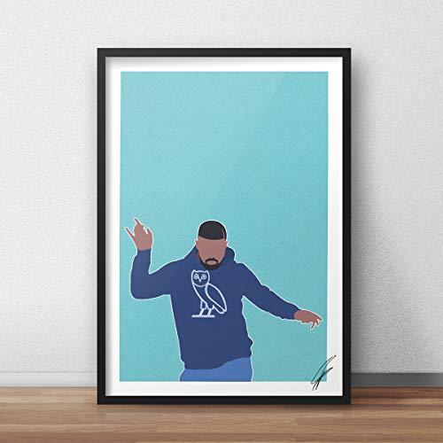Von Drake inspirierte Illustration.