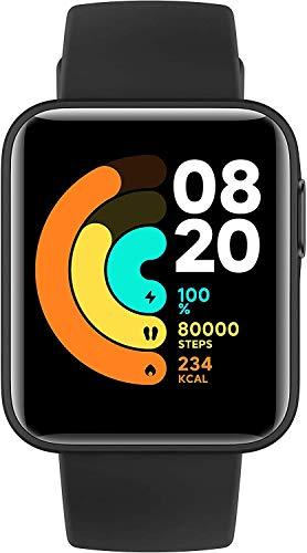 Xiaomi Smartwatch Bluetooth Fitness Tracker 1,4-Zoll-Touchscreen Neutral 50 m Wasserdicht Aktivitäts-Tracker, Schlafüberwachung, Herzfrequenz-Tracking, Sprachsteuerung, Personalisierter Hintergrund