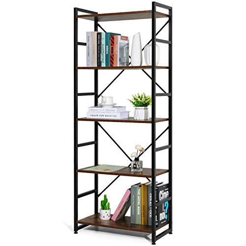 IRIS USA 2-Tier Wood Storage Shelf, White 596166