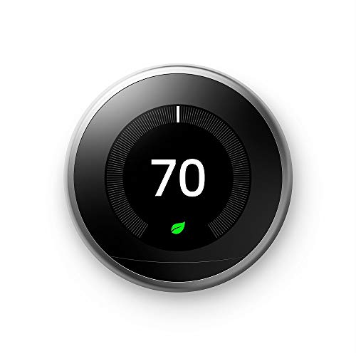 Google Nest Learning Thermostat - Programmable Smart Thermostat for Home