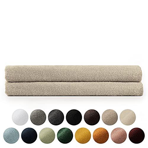 Blumtal Set de 2 Toallas de Baño (80x200cm) - Toallas Suaves y Absorebentes, 100% algodón,...