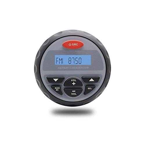 Radio Acuática Impermeable FM / AM MP3 Estéreo Bluetooth Music Para UTV ATV Motocicleta Coche BOAT SPA