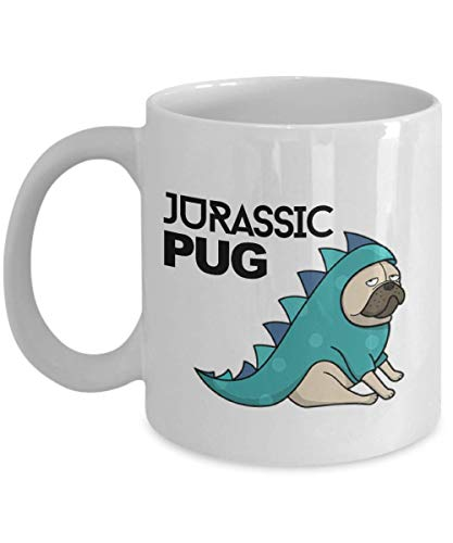 Pug Mug. Pug Coffee Mug. A Funny Coffee Mug. 11oz White Ceramic Mug.
