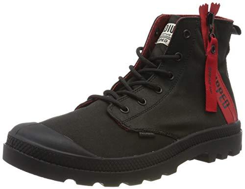 Palladium Pampa Unzipped Stiefel & Stiefeletten weich Unisex, Schwarz - Black 315 - Größe: 46 EU