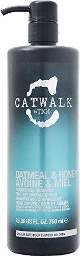 Tigi Catwalk oatmeal & Honey Avoine & Miel 750ml nutriente shampoo per lei