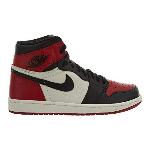 Nike Air Jordan 1 Retro High OG 'BRED Toe' - 555088-610 - Size 9 -