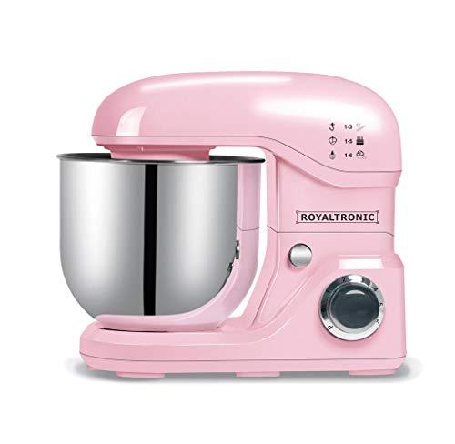 ROYALTronic - Robot de cocina (8 L, 2000 W), color rosa