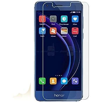 Asng Huawei honor 8 強化ガラス 液晶 保護 フィルム 2.5D 硬度9H 飛散防止 衝撃吸収 厚さ0.26mm ラウンドエッジ加工