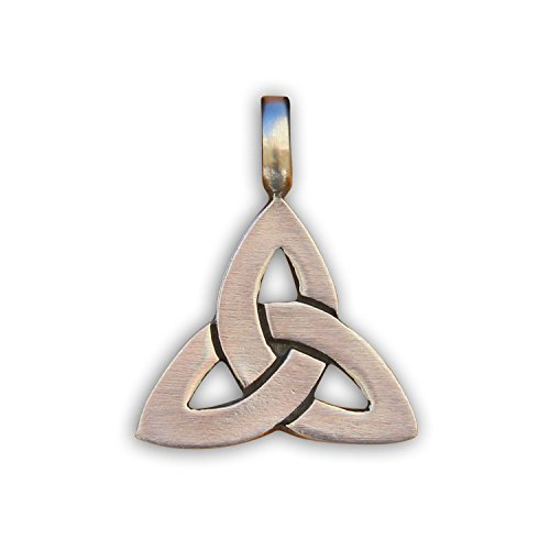 HANA LIMA ® Kettenanhänger Metallanhänger Anhänger für Surferkette Halskette Lederkette Lederhalskette (Keltischer Knoten)