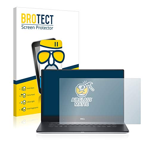 BROTECT Entspiegelungs-Panzerglasfolie kompatibel mit Dell Precision 5520 HD Non-Touch - Anti-Reflex Panzerglas Schutz-Folie Matt