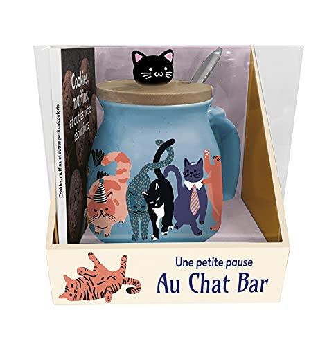 Coffret - Mug Une petite pause au Chat Bar NE - boîte et accessoire