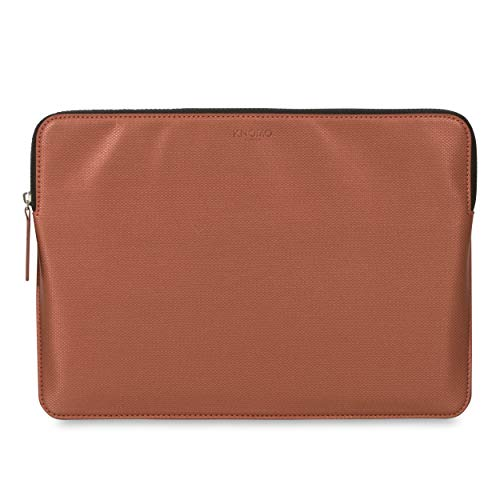 Knomo 14-208-COP Embossed Sleeve for 15-Inch MacBook Pro/Ultrabook - Copper
