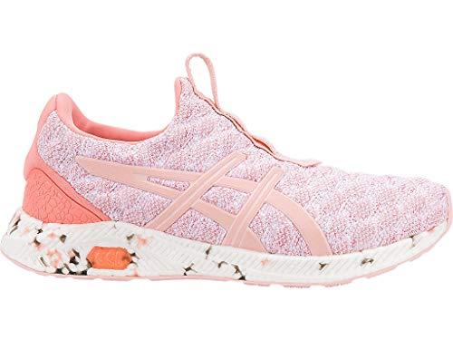 ASICS Women's HyperGEL-KENZEN Running Shoes, 8.5M, Begonia Pink/Seashell Pink/Beg