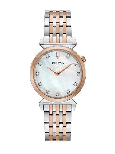 orologio solo tempo donna Bulova Classic Regatta casual cod. 98P192