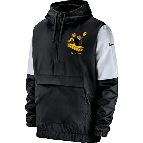 Nike Men's Pittsburgh Steelers Historic Anorak Jacket (XX-Large)
