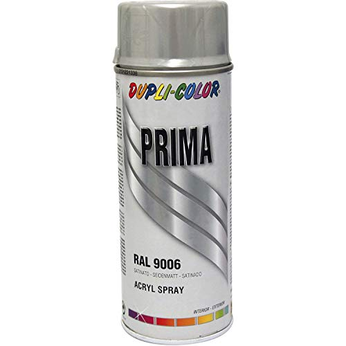 DUPLI-COLOR Lackspray, 400 ml, weiß aluminium / RAL 9006, 1 Stück,789069