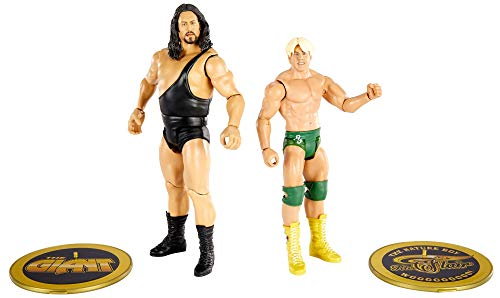 WWE The Giant vs Ric Flair Championship Showdown 2-Pack 6-in / 15.24-cm Action Figures Monsters of the Ring Battle Pack for Ages 6 Years Old & Up