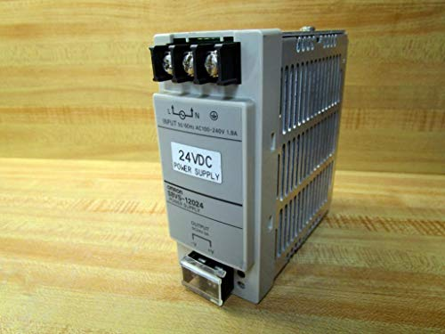 S8VS-12024 | 247535 | OMRON POWER SUPPLY, 24VDC, 120W, 100-240VAC INPUT, 5A OUTPUT, DIN RAIL MOUNTING, BASIC MODEL