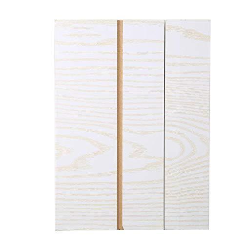 Aeloa 12 '' High-Definition-Handy-Schirm-Verstärker mit Holzmaserung Ständern Anti-Strahlung tragbaren Heimkino-Mobiltelefon-Verstärker for alle Smartphones (Farbe : Weiß)