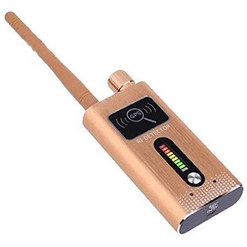 HBBOOI Detector Anti espía, Detector de Errores Anti-espía Cámara GPS RF Detector de señal gsm GPS Tracker Finder Security Detector de Errores Detector de Errores Detector de frecuencia Escáner