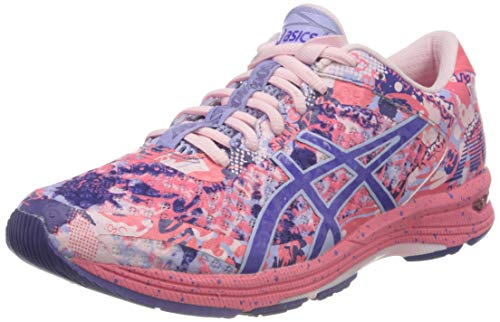 Asics Gel-Noosa Tri 11 Mujeres Running Trainers 1012A797 Sneakers Zapatos (UK 7 US 9 EU 40.5, Pink Cameo Gentry Purple 700)