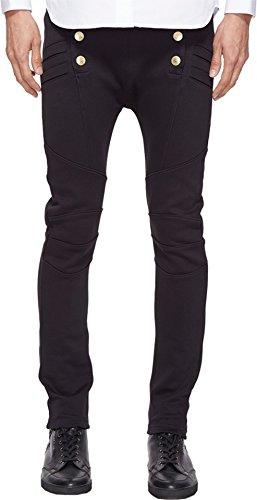 Pierre Balmain Men's Military Sweatpants Black 58 30 30