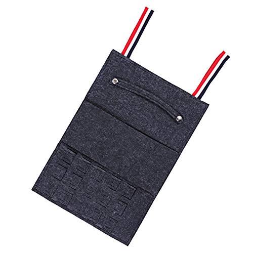 SOONHUA Bolsa de almacenamiento portátil para collar y pendientes de viaje