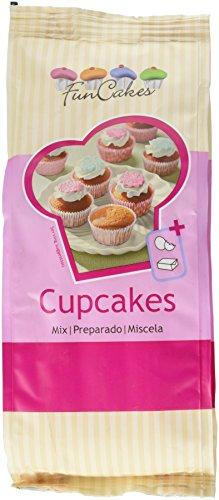FunCakes Miscela per Cupcakes - Pacco da 1 x 500 gr - Totale: 500 gr