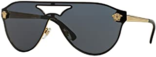 Versace VE2161 Aviator Sunglasses For Men For Women+FREE Complimentary Eyewear Care Kit