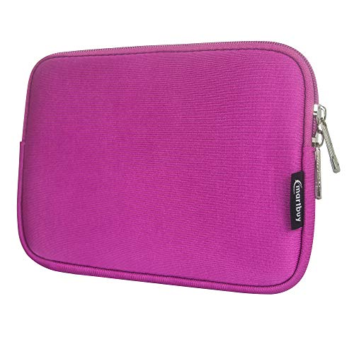 Emartbuy Schutzhülle für Lenovo Ideapad Miix 300 Tablet (Neopren, mit Reißverschluss, wasserabweisend, für 25,7 cm / 10,1 Zoll), Hot Pink