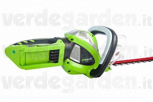 Greenworks heggenschaar 40 V zonder accu