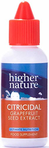 Higher Nature Citricidal Grapefruit Seed Extract - 100ml