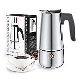 Cafetera Italiana, Diealles Shine Cafetera Italiana 6 Tazas, Conveniente para La Cocina de...