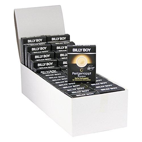 90 (30 x 3er) Billy Boy Perlgenoppte Kondome