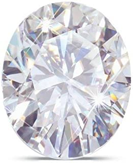Oval Moissanite by Charles and Colvard Loose Stone